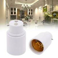 B22 to E27 Light Bulb Socket Adaptor Converter Lamps New Adapter Holders N0M9