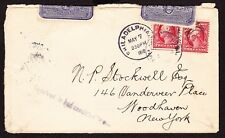 "Cover, 1912, ""RECEIVED IN BAD CONDITION"" with 2 Post Office Seals Attached"