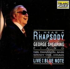 I Hear a Rhapsody: Live at the Blue Note by George Shearing 1992 CD Telarc Jazz