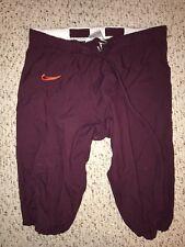 2014 Nike Virginia Tech Hokies #60 Woody Baron Game Worn Football Pants