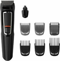 Philips Barbero MG3730/15 Recortador Barba y Cabello Precisión 8 en 1 Autoafila