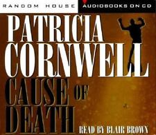 Kay Scarpetta: CAUSE OF DEATH  by Patricia Cornwell - CD AUDIO BOOK