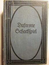 KLEINES LEHRBUCH DES SCHACHSPIELS von Jean Dufrensne (Good/8th Edition/1910)