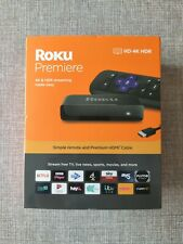 Roku Premiere 4K HDR Streaming Media Player