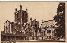 Postcard - Hereford - Cathedral - North