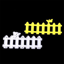 1X Fence Cutting Dies Stencil Scrapbooking albums Embossing Folder paper M&C