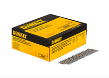 Dewalt 1.5 x .131 in Galvanized Metal Connector Nailer Nail Gun 2000 Pack Nails