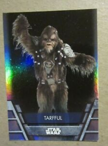 Star Wars Holocron, Tarfful, Foilboard Parallel Card, 2020, Topps, REP-13, HOLO