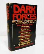 DARK FORCES Stories of Horror - KING, BLOCH, MATHESON, BRADBURY, OATES HCDJ BCE