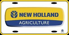 New Holland Agriculture Official Farm Vanity License Plate Sign 12x6
