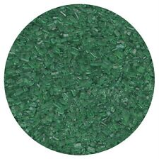 GREEN SANDING SUGAR FOR CAKE POPS & OTHER CAKE DECORATING - 100 gram vial