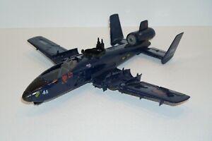 1980s Vintage Hasbro Gi Joe/Cobra Rattler Jet Fighter Plane: For Parts Or Repair