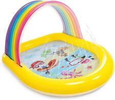 Intex Rainbow Arch Spray Pool, Inflatable Kids Pool