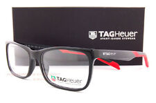Brand New TAG Heuer Eyeglass Frames B URBAN 0554 006  Shiny Black/Red Men Women