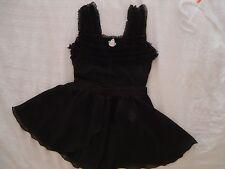 Ballerina - Little Stars black leotard Size:LC with Eurotard black skirt Size:XL