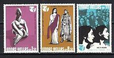 Grèce -Greece 1975 année de la femme Yvert n° 1184 à 1186 neuf ** 1er choix