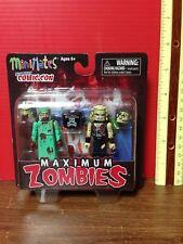 2011 Maximum Zombies Mini Mates New York Comic Con Figures NOS