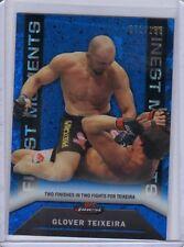 2013 Topps UFC Finest Blue Refractor Finest Moments #FM25 Glover Teixeira 71/188