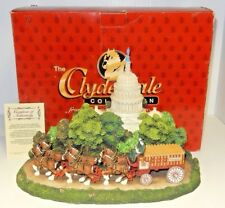 Clydesdale Collection Washington Scene White House Diorama With Orig Box & Coa