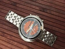 Automatic watch NOS style - unworn - monocoque case - orange dial