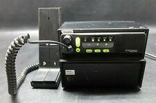 Motorola Radius M1225 Uhf Mobile Radio M34Dgc90E2Aa w/ Astron Sl-10Mr Pwr Supply