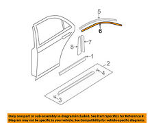 MAZDA OEM 03-08 6 Exterior-Rear-Black Out Tape Right GK2A508V2A