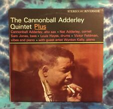 The Cannonball Adderley Quintet  LP  Plus  RIVERSIDE  Deep Groove  DG