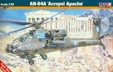 AH-64 A ACROPOL APACHE (GREEK, DUTCH, ISRAELI & U.S. ARMY MKGS) 1/72 MISTARCRAFT