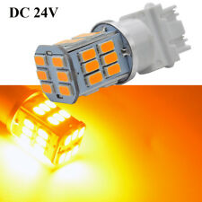 10X 10V-30V 3157 Super Bright 30 5630SMDLED Amber Yellow Turn Signal Light Bulbs