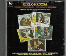 MUSIC OF MIKLOS ROZSA - ELMER BERNSTEIN - VARESE SARABANDE DIGITAL - JAPAN CD