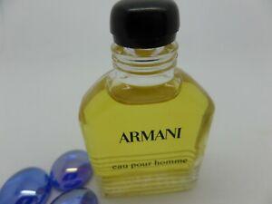ARMANI eau pour Homme MEN 10ml MINI Miniature PERFUME edt Fragrance ORIGINAL