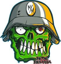 METAL MULISHA DECAL PAIR #27 ZOMBIE!!!  Sticker, Truck Trailer Moto High Quality