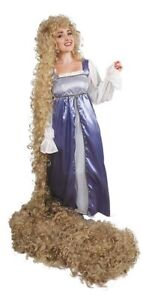 "Rapunzel 12 Ft Blonde Wig ""Into the Woods"" Theater Quality"