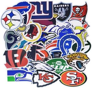NFL Team Logo Stickers - All Teams Available including some Classic Logos