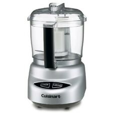 Cuisinart DLC-2ABC Mini Prep Plus 24oz Food Processor, Brushed Chrome