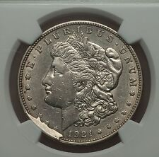 1921 D MORGAN DOLLAR VAM 1H4 1H3 1H2 DISCOVERY SET RAREST VAM EVER STRUCK I-5 R8