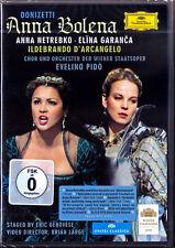 2.DVD DONIZETTI ANNA BOLENA Elina GARANCA NETREBKO D'ARCANGELO Wiener Staatsoper