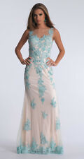 $391 NWT DAVE AND JOHNNY PROM/PAGEANT/FORMAL DRESS/GOWN #1299 SIZE 6