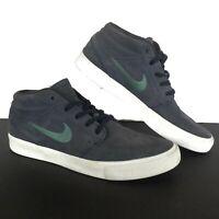 Nike SB Zoom Stefan Janoski Skate Kicks Sneakers Mens Size 10 Gray Suede Shoes