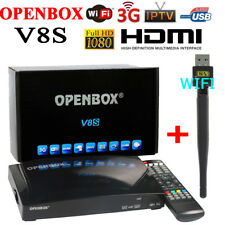 OPENBOX V8S free to air Full HD 1080P Digital Satellite Receivers+ free USB WIFI