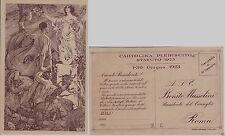 # FASCISMO: PLEBISCITO STATUTO 1923 - dis. ANICHINI