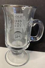 New ListingJameson Irish Coffee Whiskey Mugs Cups Pedestal Footed Glass Bar Gift 8oz