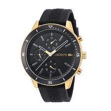 Lacoste 2010994 Key West Men's 44mm Black Dial Stainless Steel Watch