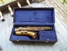 Vintage Old Kraftsman Tenor Saxophone