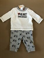 Gymboree Fun at Heart Dog Boys Size 12-24 Months Socks NEW Pirate I love MOM Red