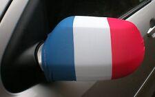 Voiture Rétroviseur Chaussettes drapeaux,coques,Haut les drapeaux! France
