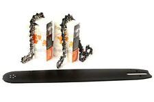 """50 cm Schwert 325"""" 81TG 1,6 mm 2 Ketten für Stihl 026 MS260, ST3251681 *"""