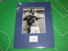 Steve lynex Firmado Leicester City 1982 Fa Cup trimestre final Foto de prensa de montaje