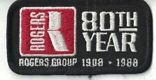 Rogers Group 80th year 1908-1988 Nashville TN 3.75 Inch Patch Hot Mix Asphalt