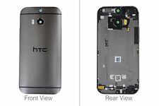 Genuine HTC One M8s Grey Laser Etching Rear / Battery Cover - 83h40034-01